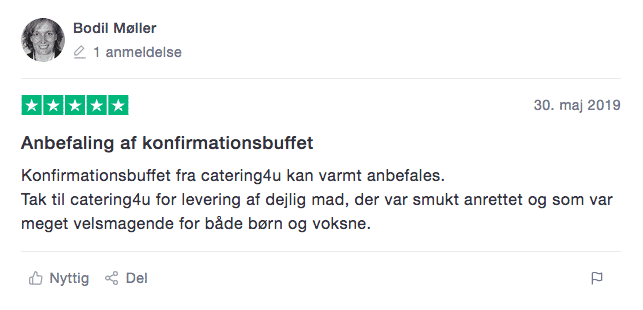 konfirmationsbuffet